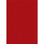 BY The Sheet, Kanban RED Bobble Dots Embossed Cardstock 225gsm